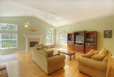Family Room in Blues Creek home