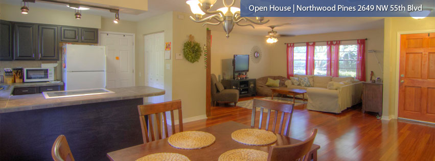 Open House Saturday 12/5 2-4pm – Northwood Pines