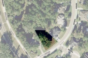 ariel view of lot in Gainesville FL