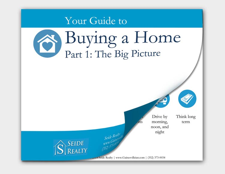 Download Seide Realty's free First Time Home Buyers eBook