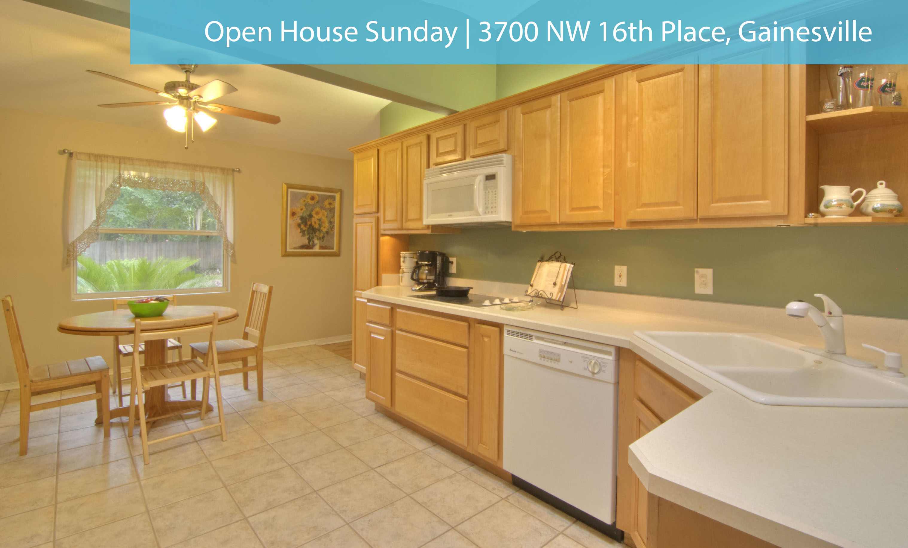 Open House: Sunday 9/28 2-4pm