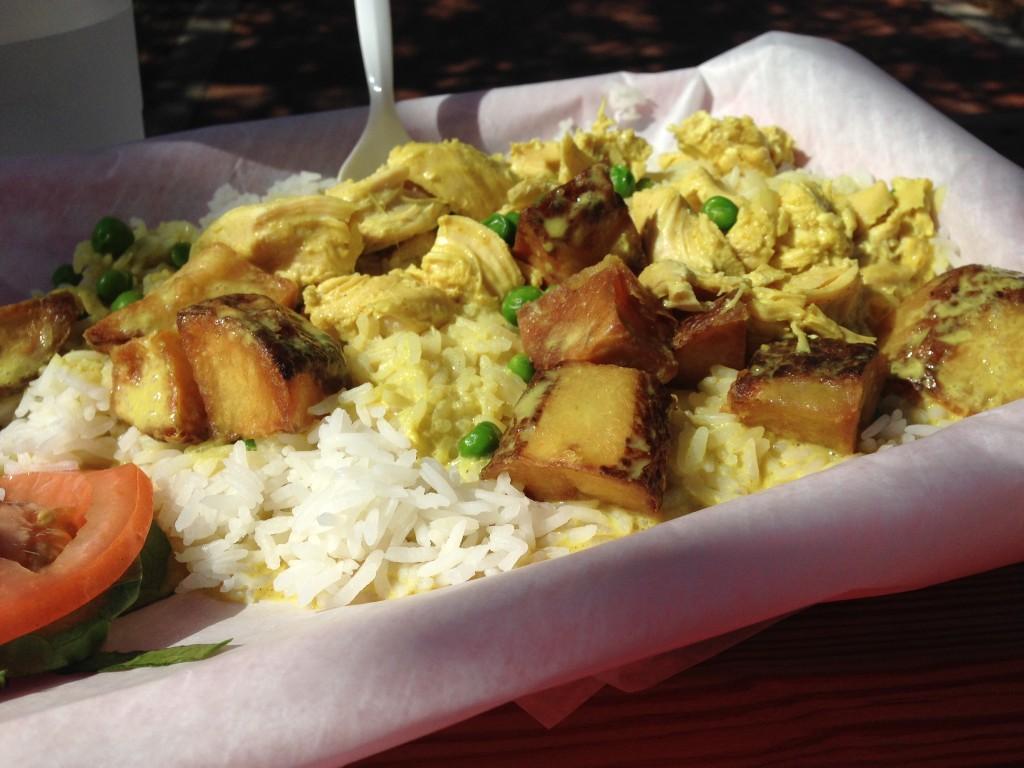 Steamers Restaurant Curry chicken